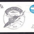 USS ALBACORE AGSS-569 Portsmouth NH 1970 Naval Submarine Cover