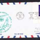 TWA NY to Zurich Switzerland First Flight Cover