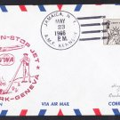 TWA NY to Geneva Switzerland First Flight Cover