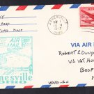 Zanesville OH to Pittsburgh PA 1947 First Flight Cover