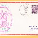 USS TARBELL DD-142 Decommissioning 1937 Naval Cover