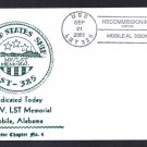 USS LST-325 Dedication As LST Memorial Naval Cover