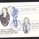 #2013 DR. MARY WALKER CIVIL WAR SURGEON Stamp First Day Cover