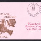 USS THACH FFG-43 Portland Rose Festival Naval Cover