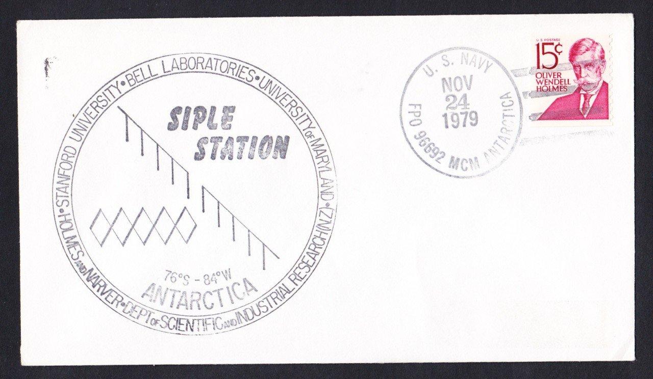 SIPLE STATION ANTARCTICA 1979 Polar Cover