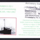 100 Years of US Navy Destroyers USS BAINBRIDGE DD-1 Naval Cover