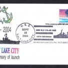 USS SALT LAKE CITY CA-25 75th Anniversary Naval Cover