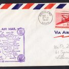 AM86 Brainerd MN to Hibbing MN 1949 First Flight Cover