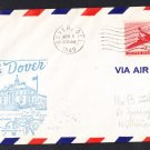 AM97 Dover DE to Atlantic City NJ 1949 First Flight Cover