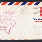 AM64 Las Cruces NM to El Paso TX 1948 First Flight Cover