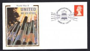 BRITAIN JOINS WORLD WAR II Colorano Silk Event Cover