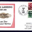 Destroyer Escort USS LANSING DER-388 LDPS BECK #B533 Naval Cover