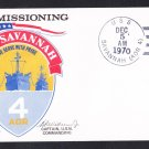 USS SAVANNAH AOR-4 Commissioning Naval Cover