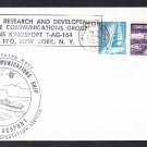 USNS KINGSPORT T-AG-164 Satellite Communications Ship 1964 Naval Cover