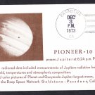 PIONEER 10 SPACECRAFT Passes Jupiter 1973 Space Cover