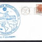 SKYLAB 4 Splashdown 1974 Space Cover