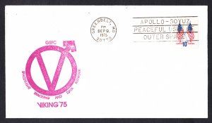VIKING 2 SPACECRAFT Launch 1975 Space Cover