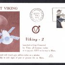 VIKING 2 SPACECRAFT Launch 1975 ASTRO Space Cover