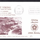 VIKING 2 SPACECRAFT Lands on Mars 1976 Space Cover