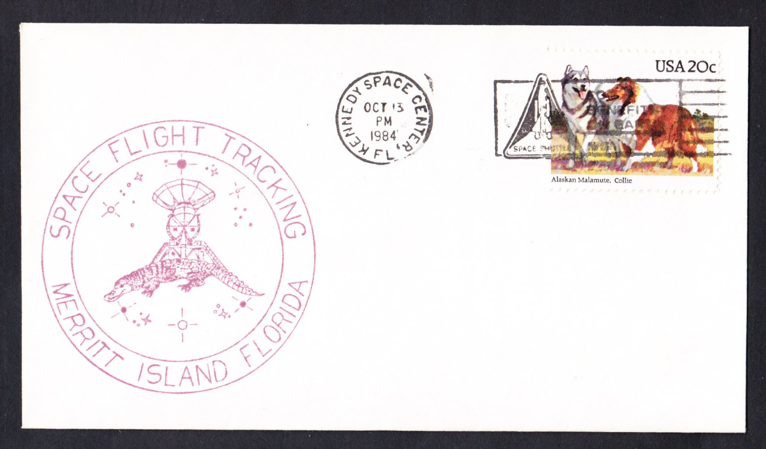SPACE SHUTTLE CHALLENGER STS-41G Landing 1984 Space Cover