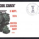 Tank Landing Ship USS LA MOURE COUNTY LST-1194 Labor Day BECK #B944 Naval Cover