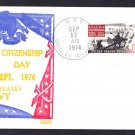Guided Missile Destroyer USS GRIDLEY DLG-21 Citizenship Day BECK #B950 Naval Cover