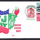 Submarine Tender USS ORION AS-18 VJ Day BECK #B936 Naval Cover