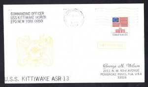 USS KITTIWAKE ASR-13 Port Everglades Fl Naval Cover