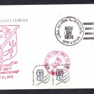 USS JESSE L. BROWN FF-1089 Port Everglades FL Naval Cover