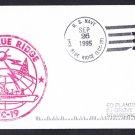 USS BLUE RIDGE LCC-19 Ship's Cachet Naval Cover