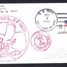 USS DOWNES FF-1070 Ship's Cachet Naval Cover