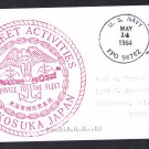 US NAVY FLEET ACTIVITIES BASE Yokosuka Japan Naval Cover