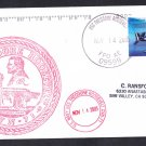 USS THEODORE ROOSEVELT CVN-71 Ship's Cachet Naval Cover