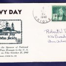 USS ORIOLE AM-7 Navy Day 1940 Naval Cover