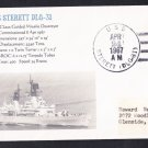 USS STERETT DLG-31 Naval Cover MhCachets Only 1 Made
