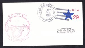 USS GUADALCANAL LPH-7 Ship's Cachet Naval Cover