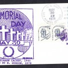 USS HEWITT DD-966 Memorial Day Herbert Gordon Naval Cover