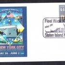 Fleet Week Staten Island New York Naval Cover