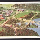 ST. MARY OF THE LAKE Mundelein Illinois Postcard