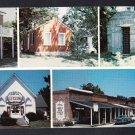 ARROW ROCK MISSOURI Landmarks Postcard