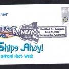AIR & SEA SHOW Broward Navy Days FLEET WEEK PORT EVERGLADES FL Naval Cover