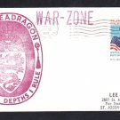 USS SEADRAGON SSN-584 Vietnam War Deployment WAR ZONE Naval Cover