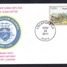 USCGC WILLIAM FLORES WPC-1103 Coast Guard Naval Cover MhCachets 8 MADE