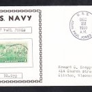 Destroyer USS JOHN PAUL JONES DD-932 Naval Cover