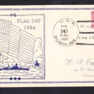 Minesweeper USS BOBOLINK AM-20 Flag Day 1934 San Pedro CA Naval Cover