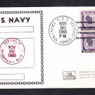 Guided Missile Destroyer USS JOHN PAUL JONES DDG-32 Naval Cover
