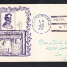 Minesweeper USS WHIPPOORWILL AM-35 Lincoln's Birthday Fancy Cancel Naval Cover