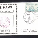 Destroyer USS O'HARE DDR-889 Naval Cover