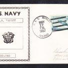 Destroyer USS MANLEY DD-940 Naval Cover