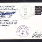 Spanish Navy Ship JUAN SEBASTIAN ELCANO Welcome To Norfolk VA 1967 Naval Cover